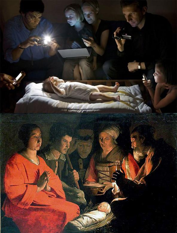 Catherine Balet - Strangers in the light - La Nativité