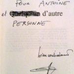 Dédicace Tonino Benacquista