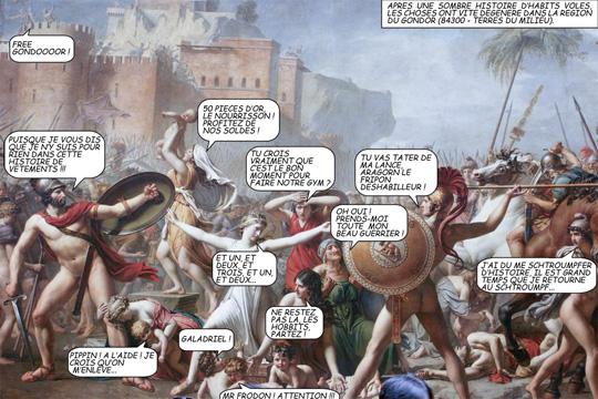 David - Les sabines