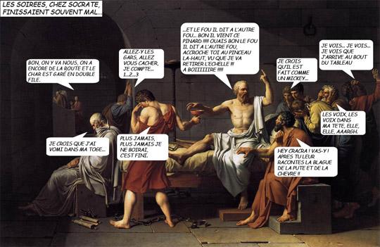 David - La mort de Socrate