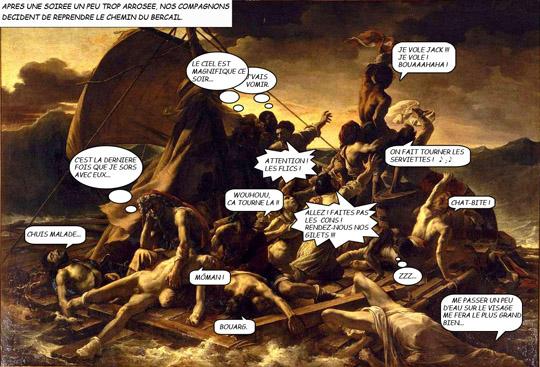 Théodaure Géricault - Le radeau de la méduse