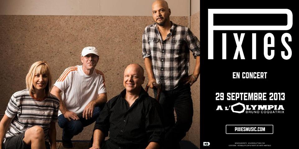 Pixies à l'Olympia