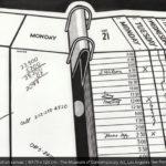 The Calendar Story Lichtenstein
