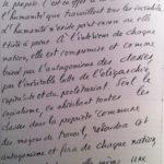 Manuscrit du premier éditorial de L'Humanité, avril 1904. Seine-Saint-Denis, Archives de L'Humanité