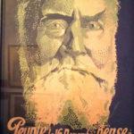 Antonio Galbez. « Peuple, pense à Jaurès mort pour toi », novembre 1919. Affiche, Montreuil, Musée de l'Histoire vivante