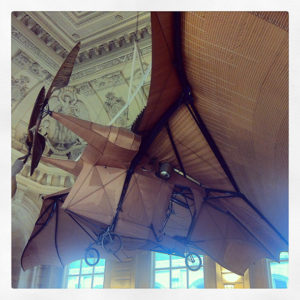 """""""Avion 3"""" de Clément Ader au Musée des Arts et Métiers"""