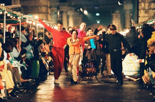 Collection homme Printemps/été 1994 © Marleen Daniëls