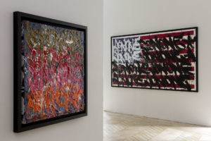 JonOne à la galerie Rabouan-Moussion