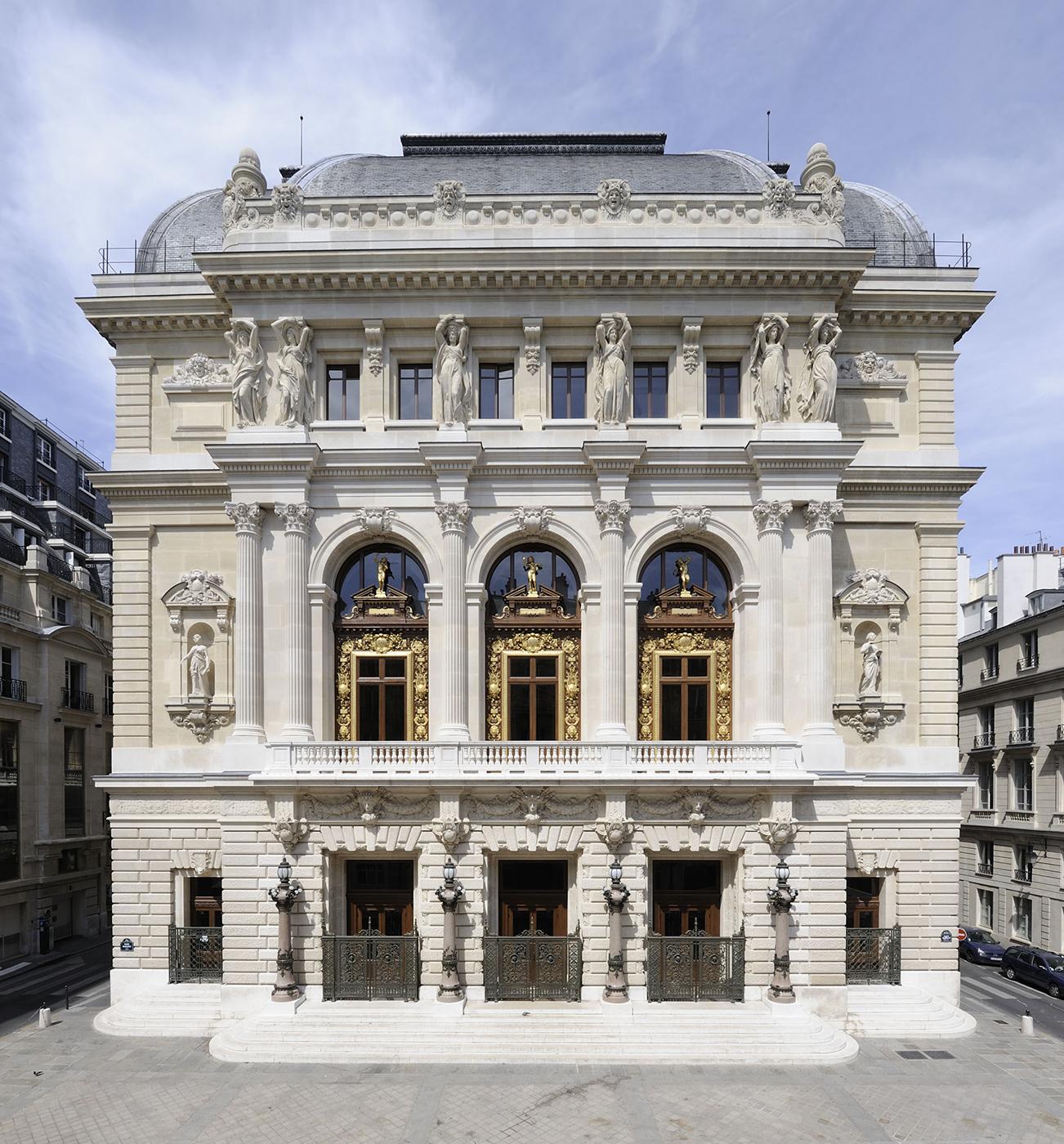 Facade De LOpera Comique C RMN Rene Gabriel Ojeda Opera
