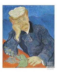 """Dr. Paul Gachet, 1890"" Giclée, 36 x 41cm 34,99 €"
