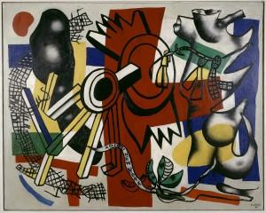 Fernand Léger Adieu New York