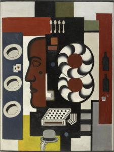 Fernand Léger Composition à la main et aux chapeaux