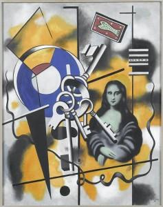 Fernand Léger La Joconde aux clés