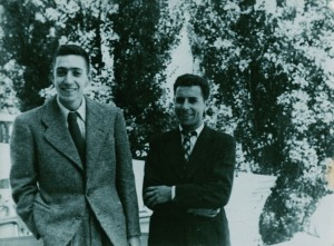 Auteur inconnu. Henri Langlois et Georges Franju, (s.d.), DR © Collection La Cinémathèque française