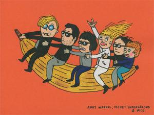 "Laurina Paperina, ""Andy Warhol, Velvet Underground & Nico"""