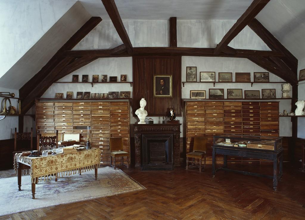 Maison de Georges Sand Nohant - Atelier de Maurice Sand