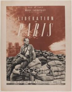 Exposition 1944 libération de Paris