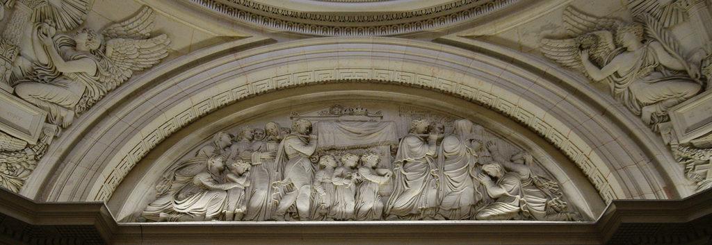 Transport des dépouilles de Louis XVI et de Marie-Antoinette vers la basilique Saint-Denis