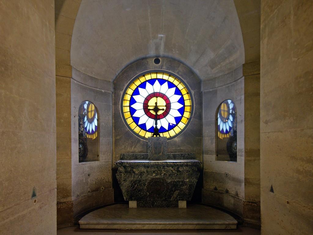 chapelle expiatoire crypte