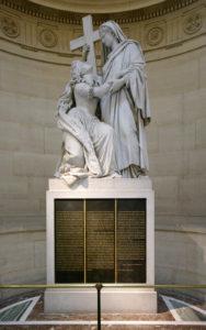 chapelle expiatoire statue marie antoinette