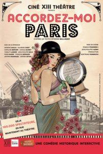 Affiche accordez-moi Paris