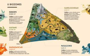 Les 5 biozones du Parc Zoologique de Paris