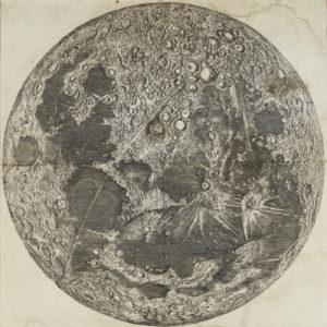 Carte de la Lune Jean-Dominique Cassini