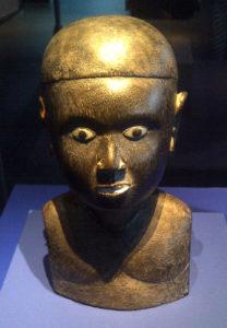 Buste, début du XXe siècle, îles Salomon occidentales