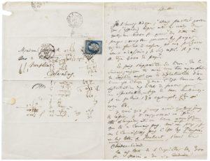 Baudelaire lettre à sa mère