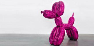 Jeff Koons centre pompidou