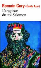 Romain Gary Emile Ajar L'angoisse du Roi Salomon Couverture