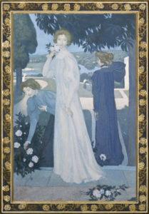 Maurice Denis, Portrait d'Yvonne Lerolle en trois aspects