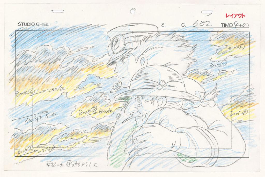 Musée des Arts Ludiques : Dessins du studio Ghibli