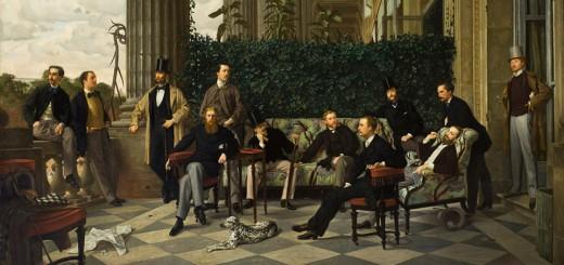 James Tissot (dit), Jacques Joseph (1836 – 1905) Le Cercle de la Rue Royale