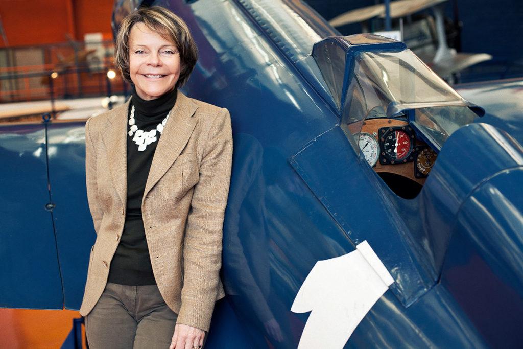 Catherine Maunoury, directrice du Musée de l'Air et de l'Espace depuis septembre 2010 © photo Musée de l'Air et de l'Espace / Franco Tettamanti, DR.