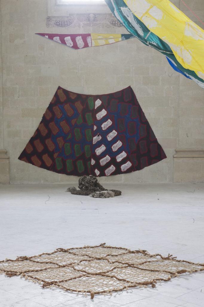 Claude Viallat Musée des Beaux Arts Nantes