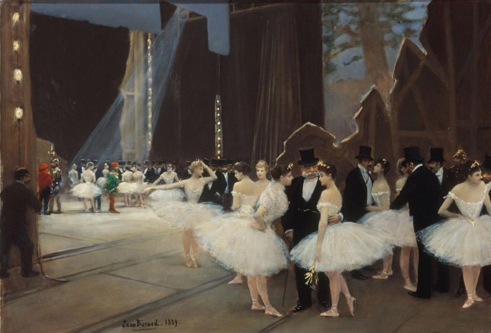 Jean Béraud Les coulisses de l'Opéra