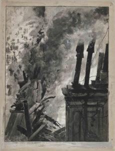 Paul Thiriat Incendie de l'Opéra Comique