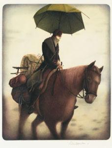 Rébecca Dautremer, Cavalier au parapluie