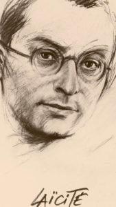 Jean Zay, dessin de Ernest Pignon-Ernest