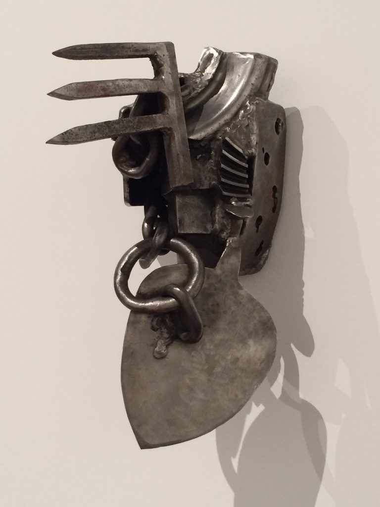 Melvin Edwards, Texas Tale, 1992 (photo : Claire Chickly)