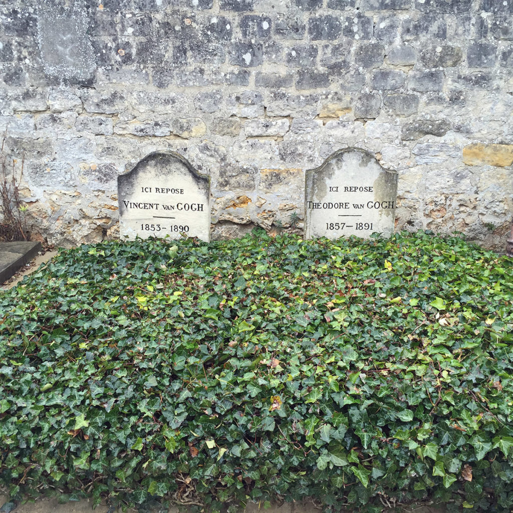 Tomb of vincent and theo Van Gogh