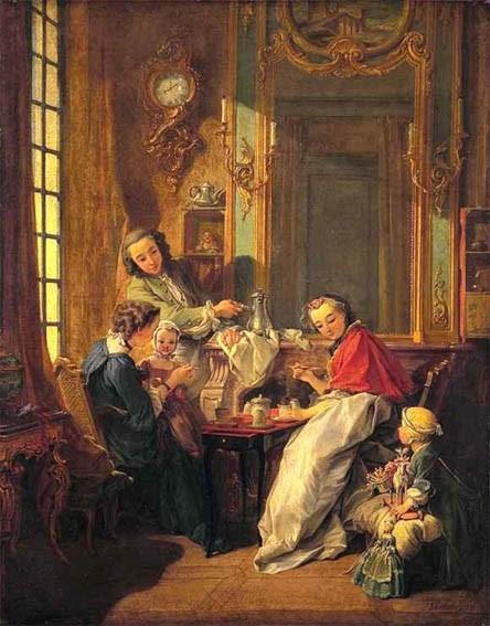 Le Déjeuner, François Boucher, 1739, Paris © Musée du Louvre Département des Peintures