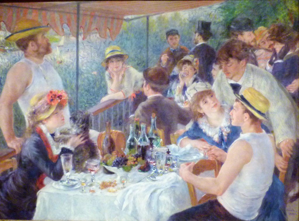 Le Déjeuner des canotiers, d'A. Renoir