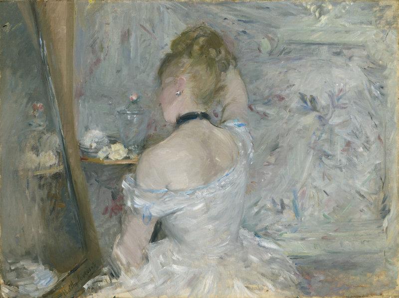 Femme en toilette, B. Morisot
