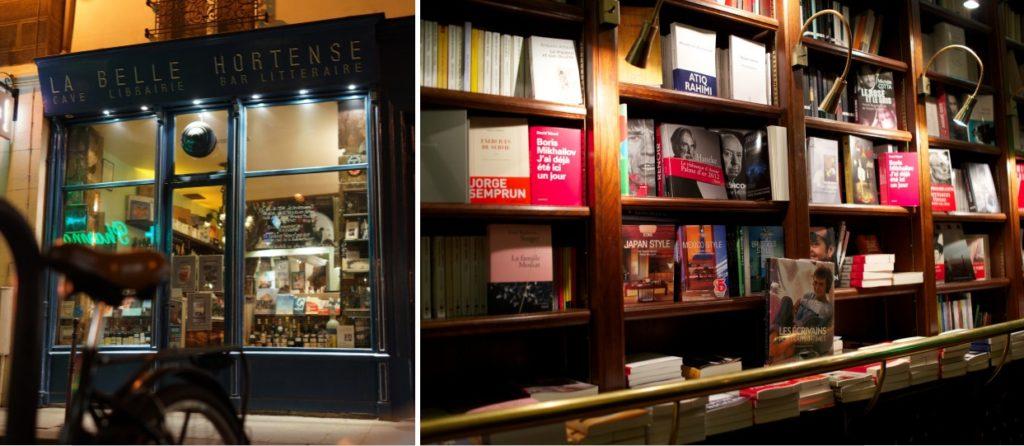 """Bar littéraire """"La Belle Hortense"""" © Rebus"""