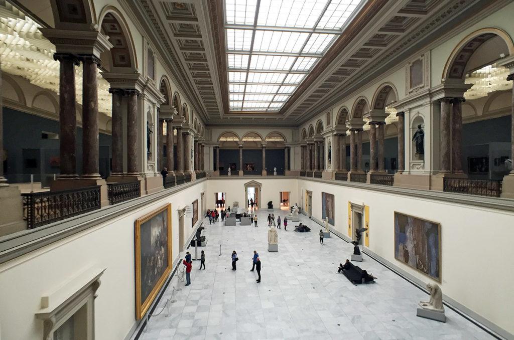 Le forum des Musées Royaux des Beaux Arts