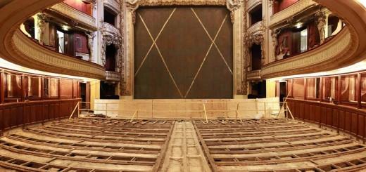 Opéra Comique, La salle Favart en travaux