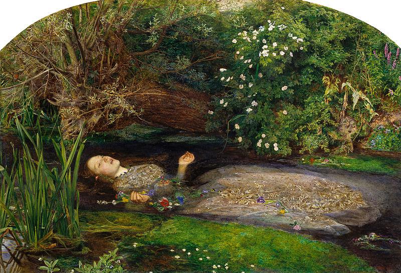 Ophelia par John Everett Millais