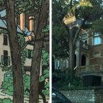 Tintin maison de Bergamotte